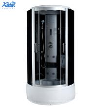 Dampfduschkabinen mit Dampfkühlschrank aus Glas