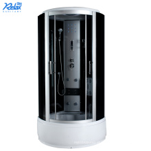 Cabine de duche relaxante com combinação de vidro temperado