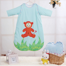 Lovely Cartoon Printing Cotton Baby Sleeping Bag