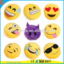 Hot Selling Alta Qualidade Novidade Design Emoji Plush Pillow