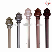12 inch curtain pole finial used with drapery and hardware