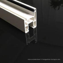 Profilés UPVC de 80 mm pour fenêtres et portes coulissantes