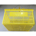 Cheap Plastic Shopping Basket with Two Handles