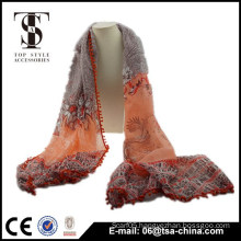 Fashion Womens print Tassel shawl Scarf Long thick Stole Wrap Scarves