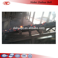 DHT-108 burning resistant conveyor belt for high temperature hot mayerials