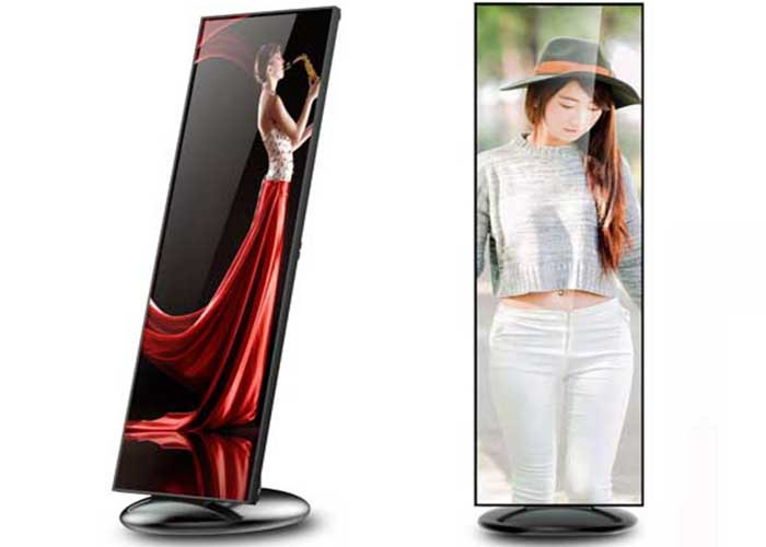 led mirror indoor display