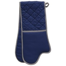 Double oven glove for kitchen