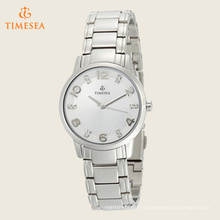 Женские часы с бриллиантовыми серебристыми браслетами 71216