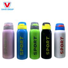 Botella personalizada de deporte de acero inoxidable con etiqueta privada