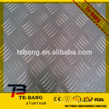 Stucco Embossed Aluminum Sheet / Diamond Checkered Sheets 0.5mm - 2mm