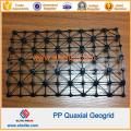 Polyester Pet Fiberglass Plastic Biaxial Geogrid