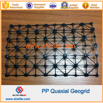 Polyester Pet Fiberglas Kunststoff Biaxial Geogrid