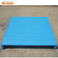 Customized 1200x1100 blue stacking steel warehouse pallet