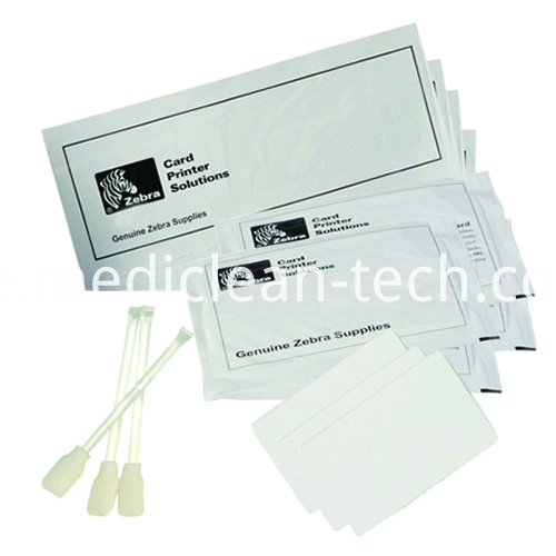 Zebra 105999-704 Complete Cleaning Kit for ZXP Series 7- Cleaning Cards & Swabs