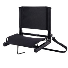 Sports Bleacher Seat Chairs with Backs and Cushion