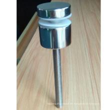 Fabricación de fábrica de Acero Inoxidable 304 o 316 Balcón de Cristal Accesorios de Barandilla de Suelo Separador Para Balaustradas