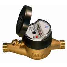 Multi Jet Dry Type Water Meter (MULTI-G1-8+1-2)