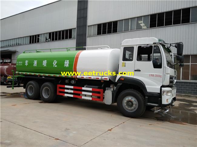 16 Ton Sprinkler Water Trucks