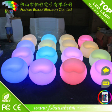 Chaise LED lumineuse