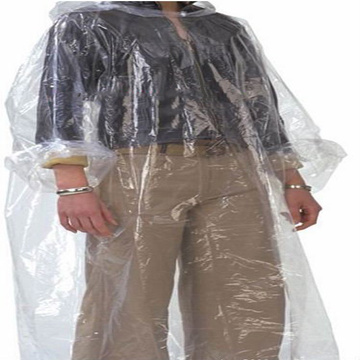 Impermeable 100% PE con capa impermeable