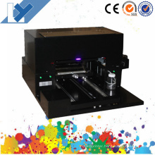 Cheapest Desktop A3 Size UV Flatbed Printer with 6 Color and UV Lamp IR Sensor for Personal Gift Printing