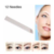 # 12 3D Augenbrauen Sticknadeln, 3D Microblading Blade.