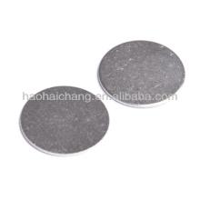 Rondelle de cale de soupape en métal ISO