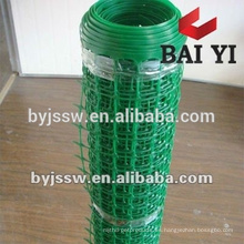Malla de alambre plástica sacada de la crianza de aves de corral, malla plástica flexible, malla de filtro plástica