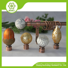 Hot-Selling High Quality Low Price morden finial curtain accessories curtain rod