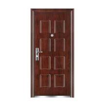 Puerta exterior de material de acero