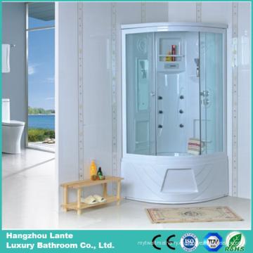 Cabina de la ducha de la esquina con la parte posterior del ABS (LTS-681)