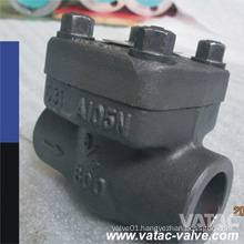 Vatac A105 Forged Check Valve with Flange or Thread Ends
