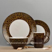 Hand Painted Ceramic Dinnerware Set