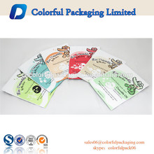 Wholesale packaging bags aluminum foil bag for facial mask