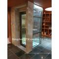 Porte-vitre en verre petite ascenseur ascenseur ascenseur à vendre