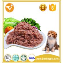 Sabroso, apetito, atún, sabor, mojado, enlatado, gato, alimento, bocado