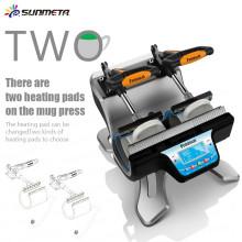 FREESUB сублимации стекла кофе кружки печатная машина