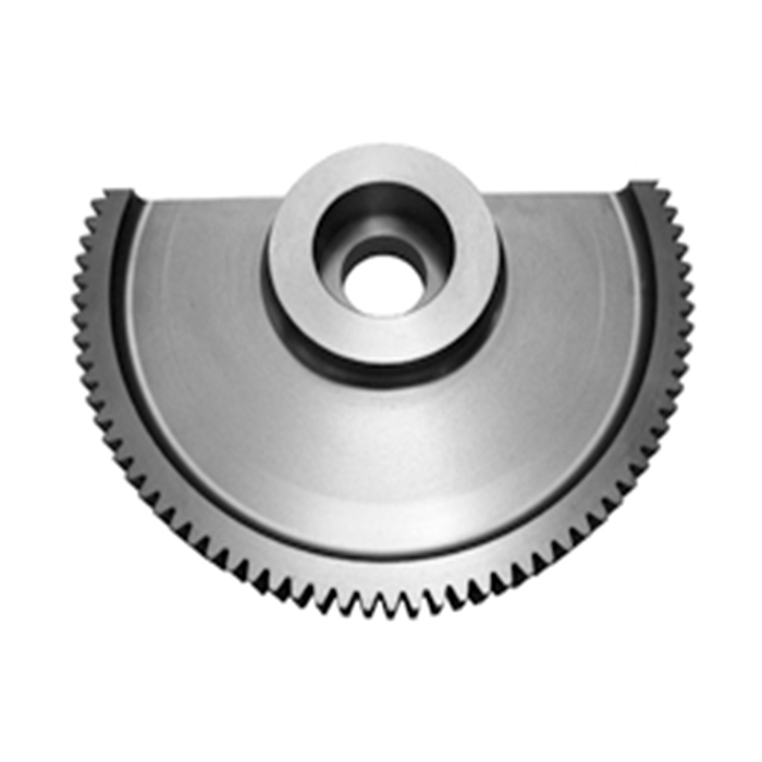 custom steel segment spur gear rim sector gear