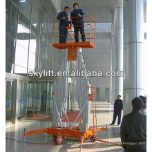 Hotel using Hydraulic Man Work Lift