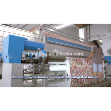 CSHX-233 alta velocidade multihead quilting e máquina de bordar