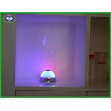 Reloj de alarma de proyección con LED de colores Cambio estrellado de estrellas