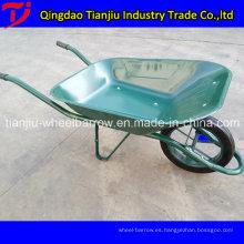 Wb6400 Wheel Barrow con rueda sólida