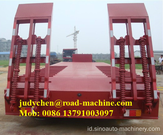 Sinotruk / CIMC 60t-100t 3 as low bed semi trailer