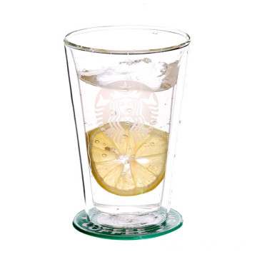 OEM Custom Borosilicate Double Wall Glass Cup