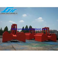 10M3 Eléctrico Hidráulico Clamshell Grab Motor Agarre Marine Grab cilindro garra marino