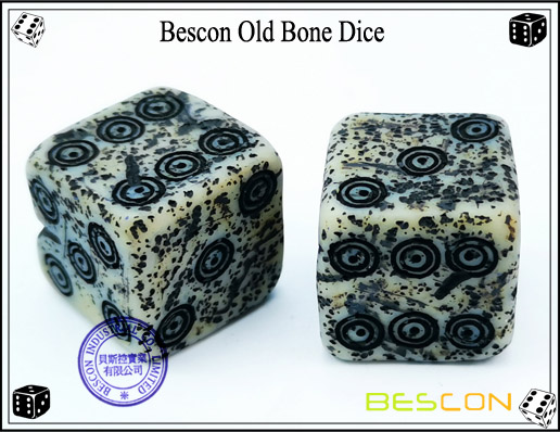 Bescon Old Bone Dice-4