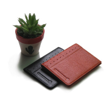 leather pu file folder name card holder passport holder