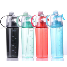 OEM Logo Plastic PC Outdoor Sprort Spray Water Bottle