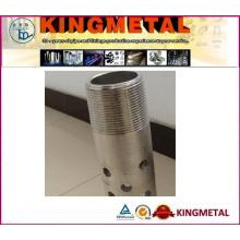 Нержавеющая сталь Пефорированная труба и пробка с полировкой