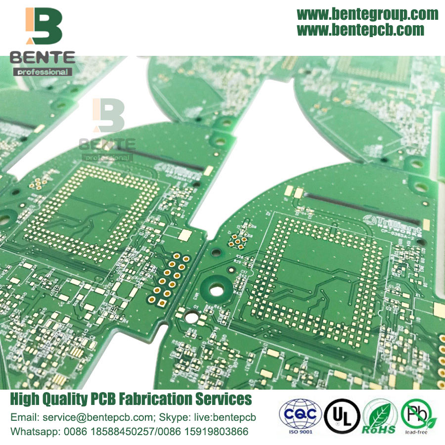 Quickturn PCB Resin Plug Hole
